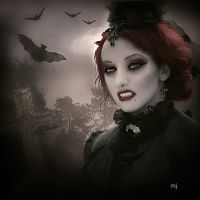Lady vampire by Eithen