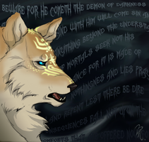 .:Tyrael Wolf:. by Baals-Baby