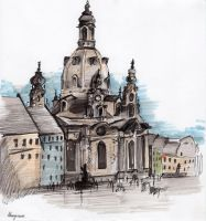 Frauenkirche (Dresden) by SENTWITCH067