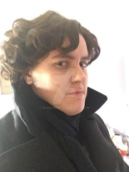 Sherlock cosplay 1 by Sparkypip