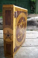Celtic Grimoire nearly finished by WOODEWYTCH