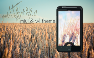 Matte Sense 4.0 Lockscreen by djswaggdotcom