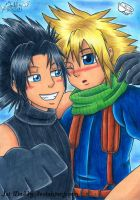 Zack and Cloud - Just Do It - by Isi-Daddy