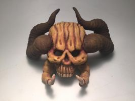 Demon Skull (front) by Panndy