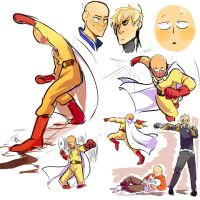 ONE PUNCH by Dinzeeyz