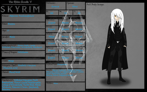 Adairan Character Sheet by MisbegottenMisfit
