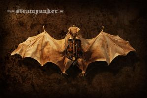Steampunk Fledermaus - Steambat by steamworker