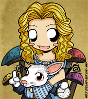 Alice - Alice in Wonderland by amy-art