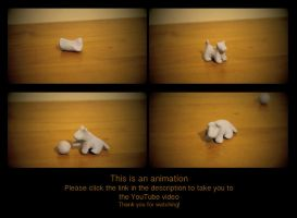 Blu Tack Dog Animation by JesikahhRAWR