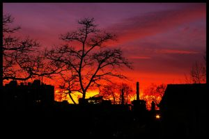 kreuzberg sunset by brandybuck