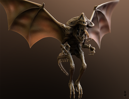 Gargoyle (Final Ver.) by nirmalthomas