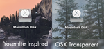 OSX Flash-based memory drive icons by mantolak