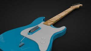 Stratocaster Gh guitar by Nick1308