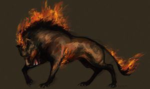 The Warg by Elsouille
