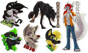 Badge Batch 8 by Tsebresos
