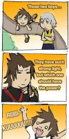 KH BBS Spoof: passing of power by jojo56830