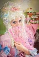 Marie Antoinette - Pretty pastel colors, cupcakes by chamellephoto