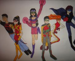 The New Teen Titans v.2 by Firefaerie81