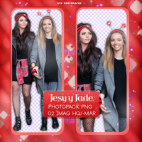 +Photopack png de Jesy y Jade. by MarEditions1