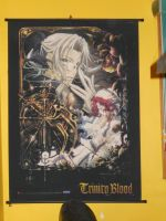 Abel and Esther Trinity Blood Scroll Poster by Finny-KunGoddess