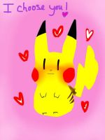 I choose you! by Sweet-Addict
