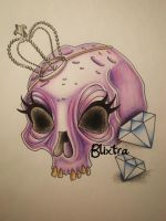 Princess Skull by Blixtra