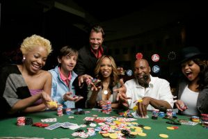 Hustle and Flow cast - Poker by LASMN