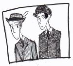 Jeeves and Wooster by Helen-Of-Troy