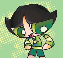 Buttercup's new clothes by TARETE