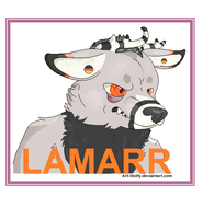 Lamarr Badge by Art-Wolfy