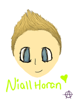 Niall Horan by cocobeanc