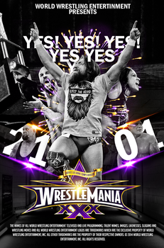 WRESTLEMANIA 30 by A-XDesigner