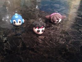 Capcom charms WIP by FallenAngelKrisi