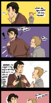 QUITE OBVIOUS, HOLMES. by Gandalfia