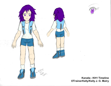 KH1 Kanata - Colour Reference by TrainerKelly