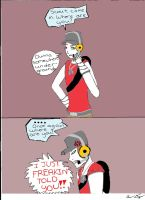 My own little Scout comic by animedugan