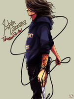 ADAM LAZZARA by nezumi-zumi