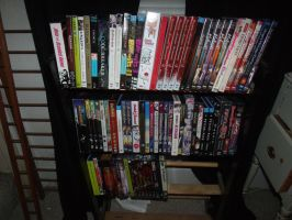 Anime DVD Collection by albertxlailaxx