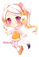 Annie of Day 18 Ermine and Vanilla orchid by Yamio