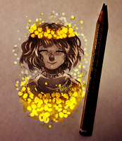 Golden Flowers by Nasuki100