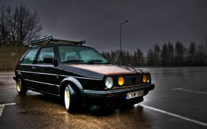 Golf MK2 by gytis
