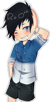 [Commission] Chibi - Matty by banANNUmon