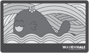 Wave Whale by DinoCacktus