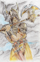 Warrior by Orydril