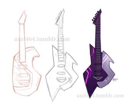 Streak's Guitar Concepts by AXEL464