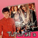 +Tutorial 3 ~ Blend When I look at you by MoveLikeBiebs