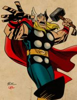 Thor by Bruce Timm by Chazzwin