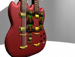 finished Guitar 2 by ARHamilton