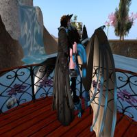me and my sl mate by Ozzlander