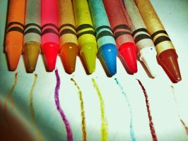 Crayons by Laura-in-china